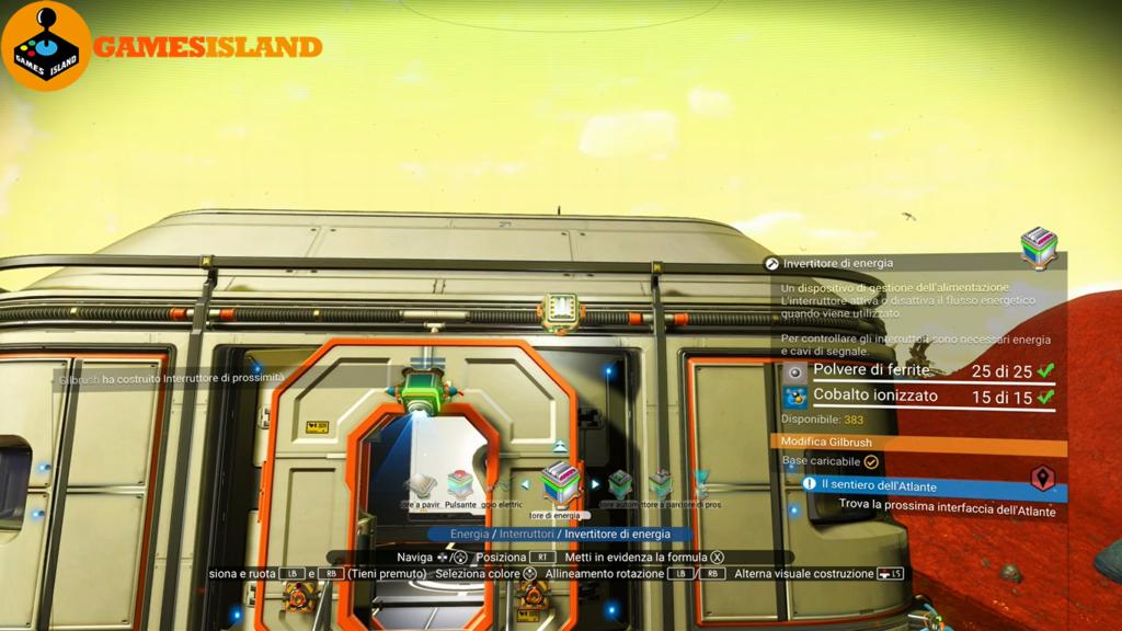 No Man's Sky - Guida impianti porte automatiche