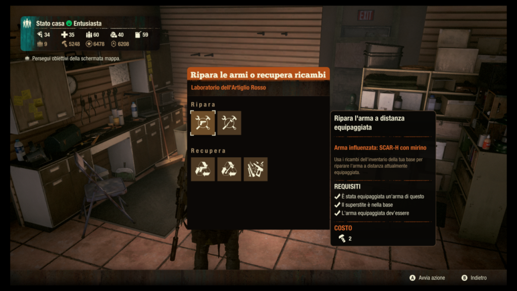 State of Decay 2 Armi