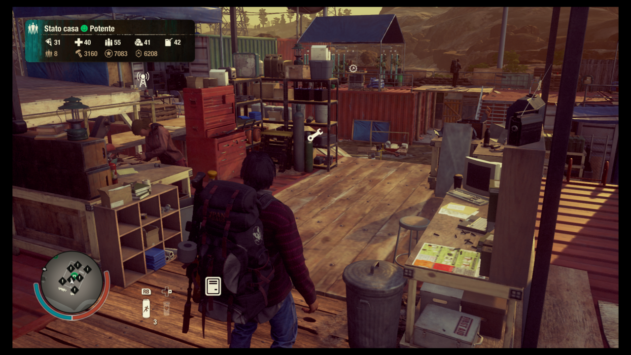 State of Decay 2 Strutture
